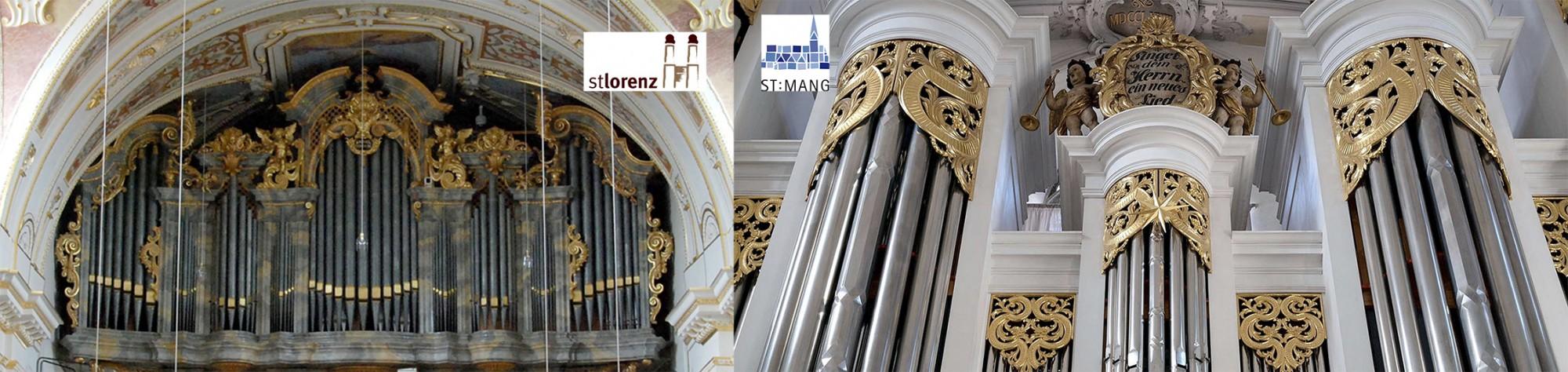 Orgeln St. Lorenz und St.-Mang-Kirche Kempten