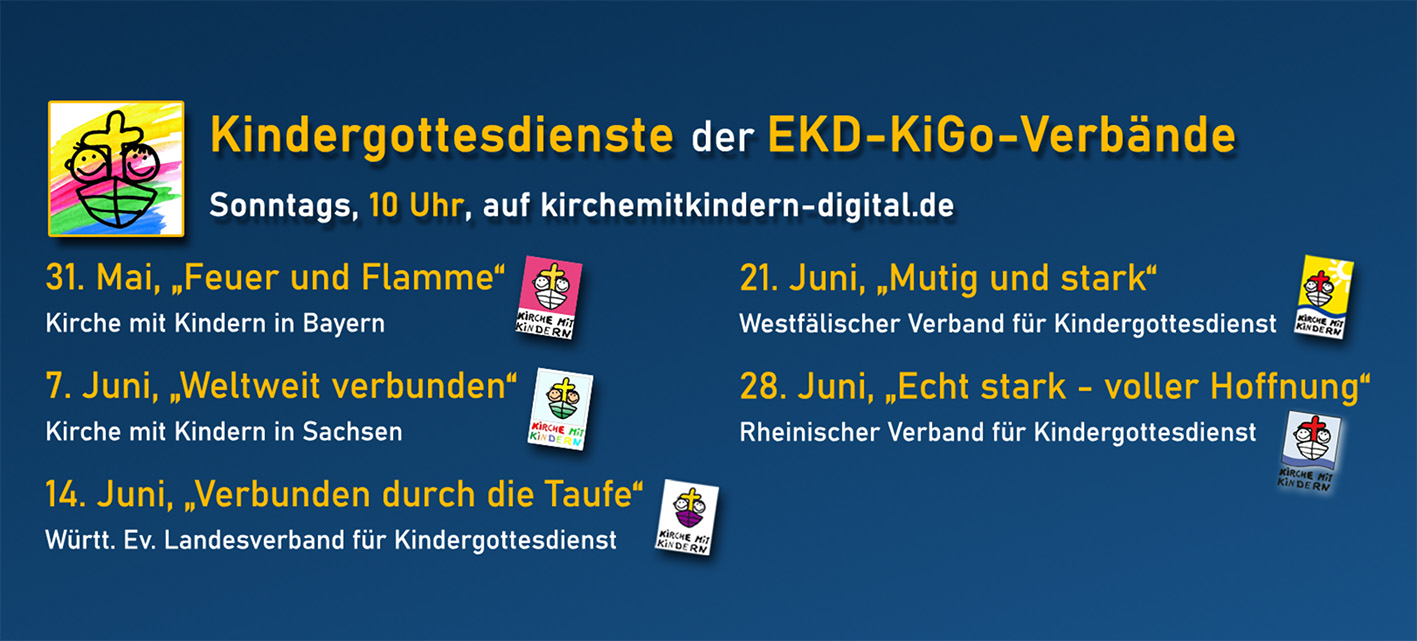 Kirche mit Kindern - digitale Angebote